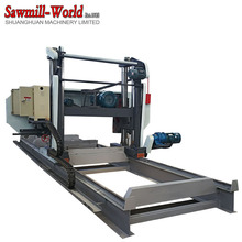 horizontal wood working band saw mill for wood machinery