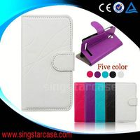 Wholesale phone case accessory for THL T100,leather cover flip case for THL T100