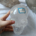 Natural rock clear quartz crystal skulls hollow chin crystal skulls special design skulls