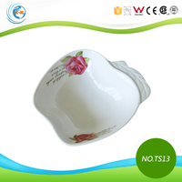 Wholesale Decal Apple Shape Ceramic Chafing Dish