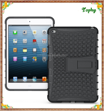 Factory Wholesale High Quality 2 in 1 Hybrid Combo Holder Stand Cover Holder For ipad mini 4