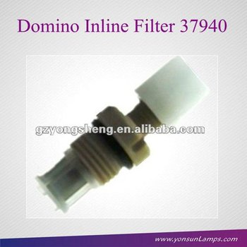 Inline filter 37940 with Metal for Domino CIJ inkjet coding printer with durable material
