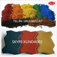 inorganic and organic iron oxide blue pigments for cement tiles