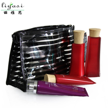 PVC Waterproof Zipper Makeup Organizer Travel Kits Make Up Cosmetic Bags
