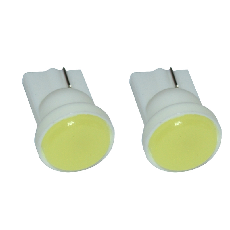 Super bright W5W T10 COB LED chips 194 168 501 LED white blue yellow green DC 12V Dashboard lights Car Interior lights