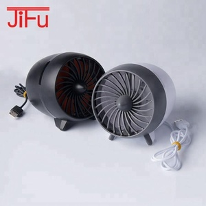 2018 new arrival special design free adjustment of wind speed stepless speed changing USB small mini cute fan for hot summer day