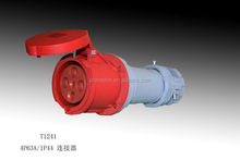 China Supplier Ip67 4p Electric Plug/ Plastic Plug 230v 16A TIBOX New products