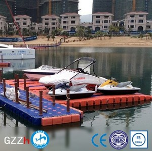 floatable personal watercraft docks