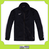 Custom black and white waterproof softshell windbreaker jacket