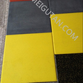 sound reducing gym rubber tile