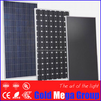 Factory directly OEM and ODM services with EPA wrapped 300w mono crystalline solar panels for solar energy systems