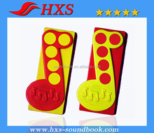 High Quality Plastic 5 Buttons Music Board Book