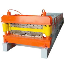 roofing shingles double layer roll forming machine china manufacturer