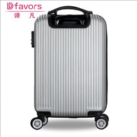 Brand new aluminium frame luggage trolley for women kids hard suitcase travel suitcase closeout wholesales