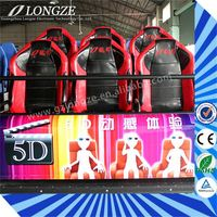 high quality 2/3/4/6/8/9/12seats Simulator Most popular new technology dynamic 5d cinema system supplier