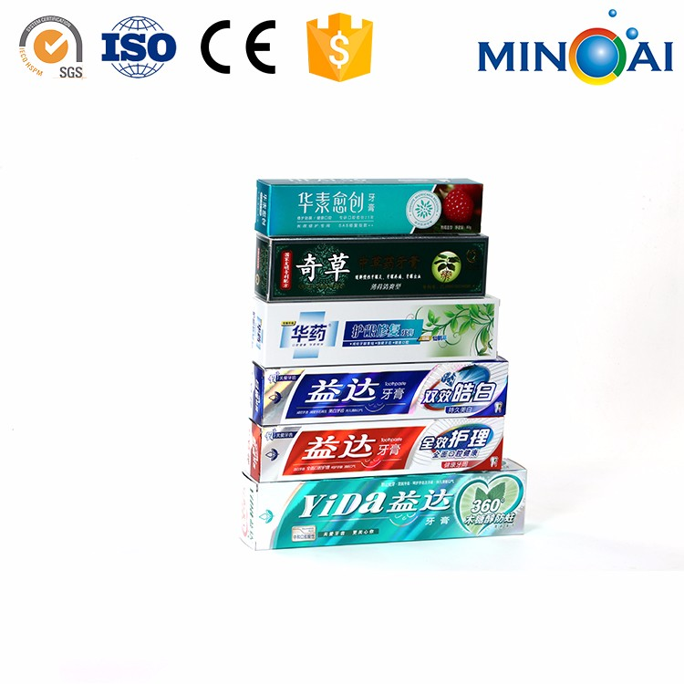 Fashionable Toothpaste Paper Box