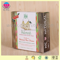 Handmade customized size folding cereal box packaging