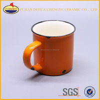 heat transfer coated blank white sublimation ceramic mugs for promotion