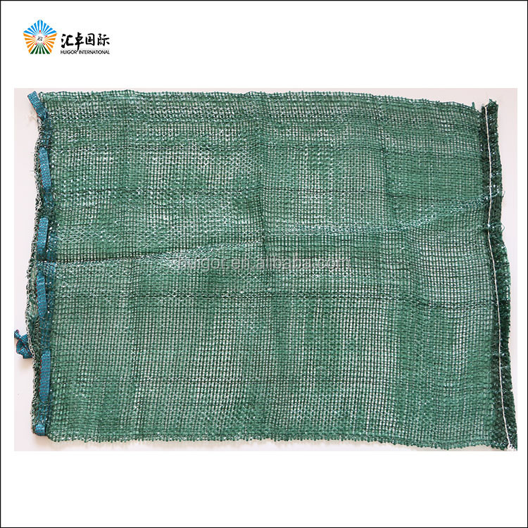 Colorful high quality extruded mesh net bag for vegetables fruits sacking