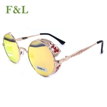 cheap top sale metal stock goods folding sunglasses