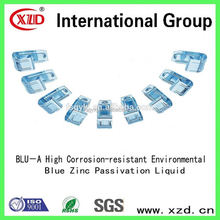 Environment-friendly Blue zinc passivation replacement solution of chemical plating