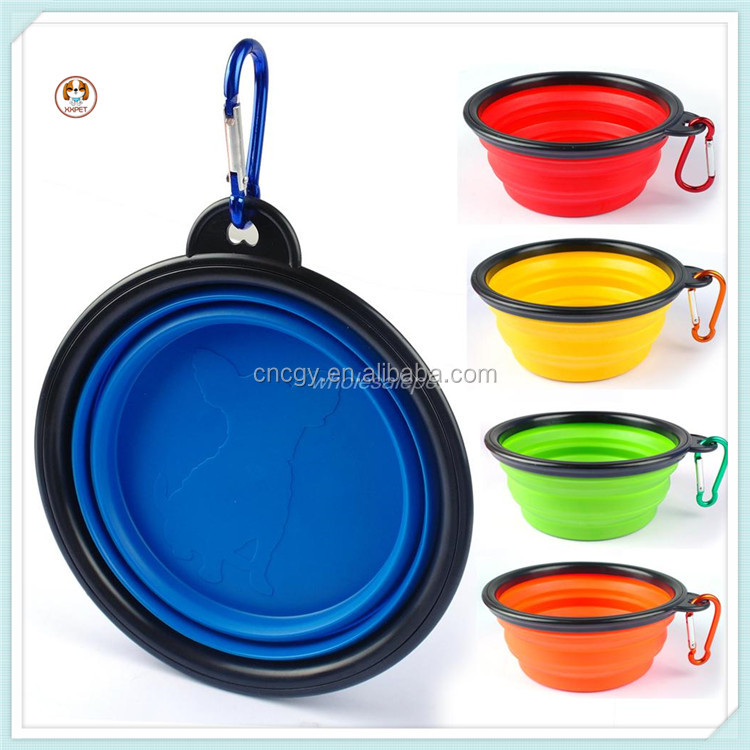 Foldable Silicone Pet Bowls for dog Silicone Dog Bowl Travel Dog Bowl Pet Dishes