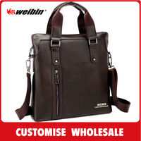 Portable Pu Leather Briefcase From Gaobeidian Manufacture