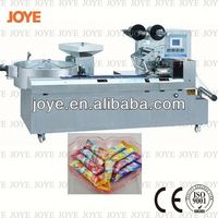 Full Horizontal Pillow Wrapping Machine For Lolipop JY-1200/DXD-1200 With High Efficiency