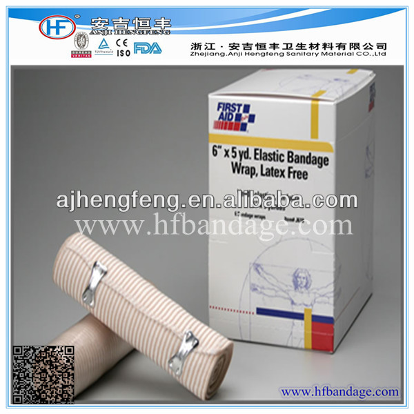 ISO CE FDA Approved Latex Free High Elastic Bandage Shrink Wrap With Color Box