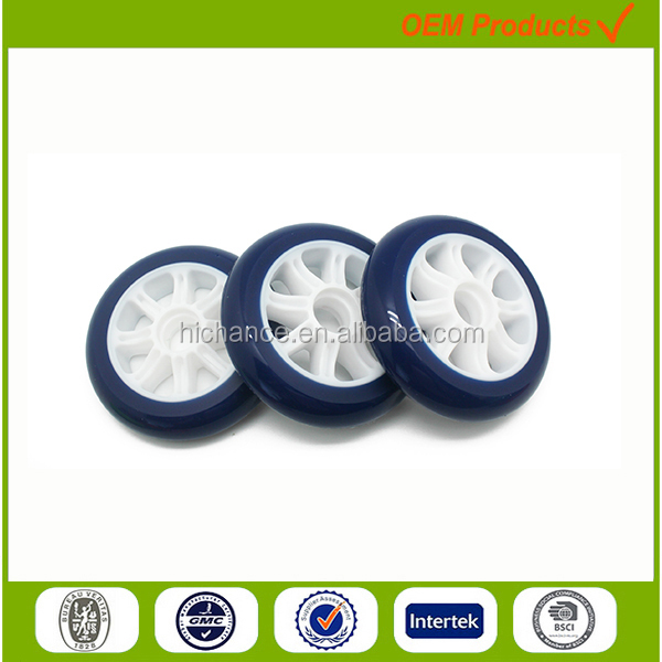 100mm high quality wheelchair wheel with bearing