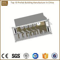 floating cheap prefabricated 2d 3d floor plan design