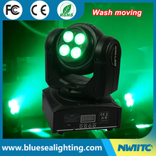 Pro party light RGBW 4-in-1 double side wash mini led moving head