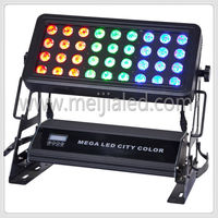 Outdoor 36 x 10w rgbw led city color stage lighting