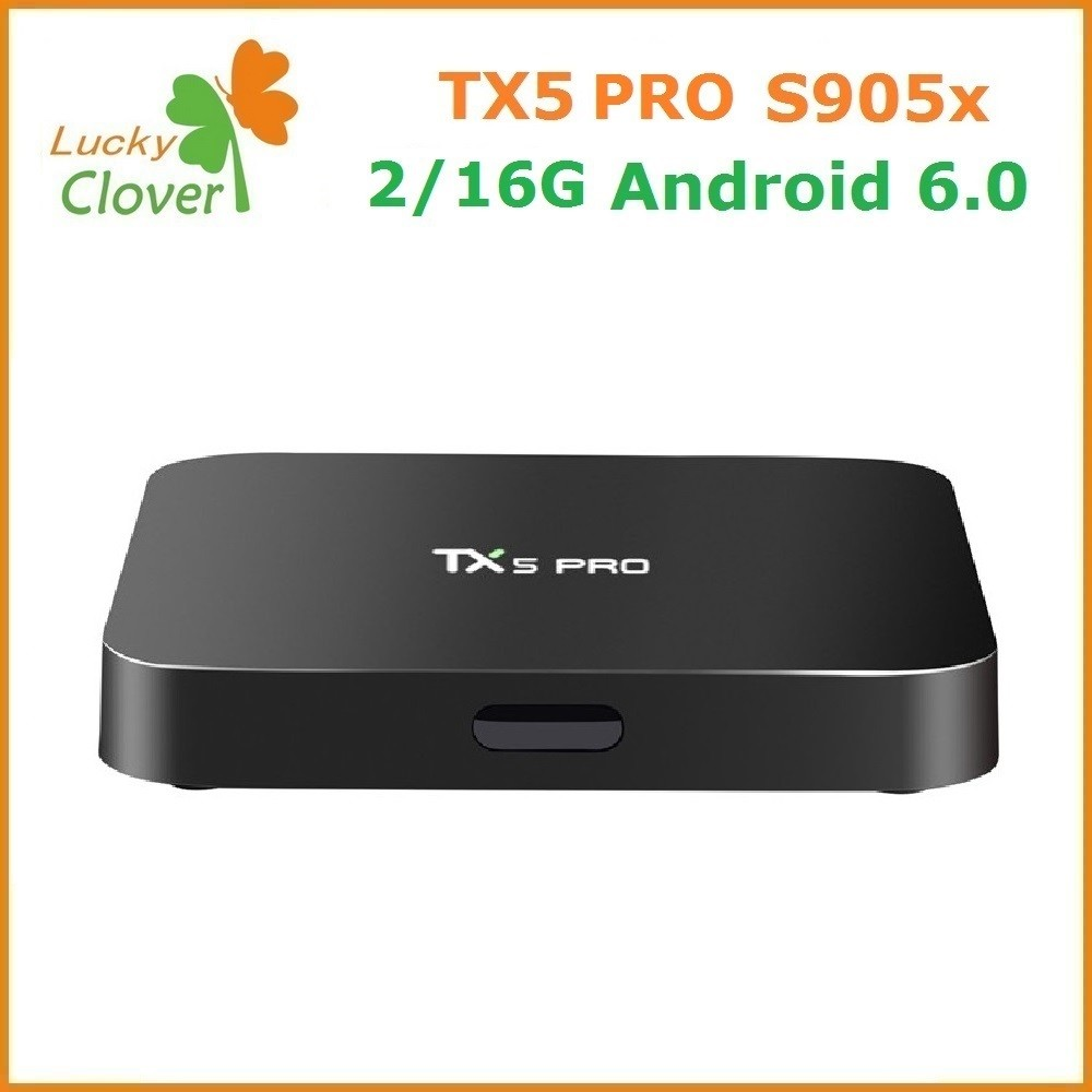 Original Tx5 Pro Amlogic S905x Quad Core Smart Tv Box Wifi 4k