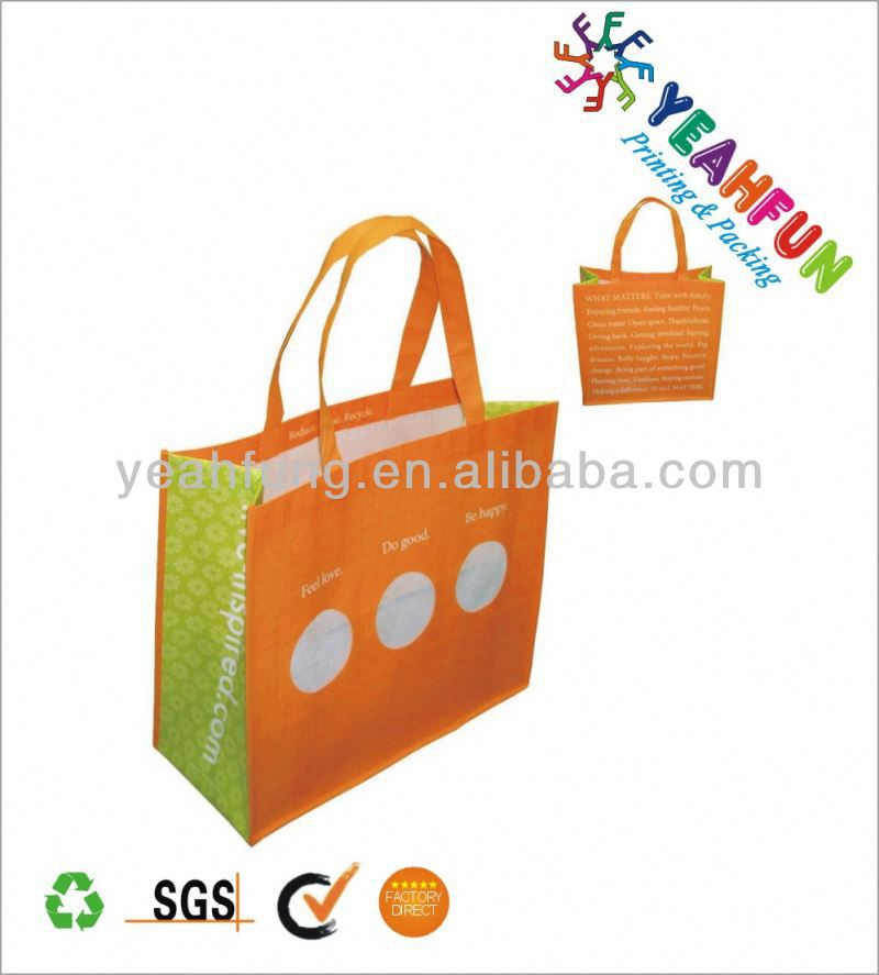 Low price sublimation printed pet shopping bag