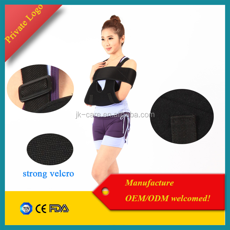elbow shoulder protector Medical strengthen orthopedic arm brace / arm sling