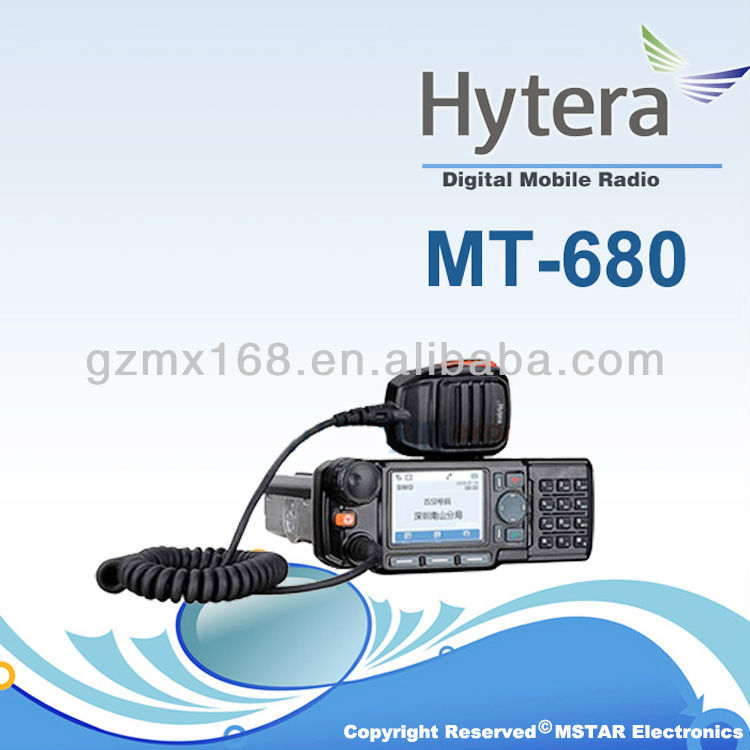 Wholesale High Quality Competitive Price hytera MT680 TETRA Digital Mobile Radio