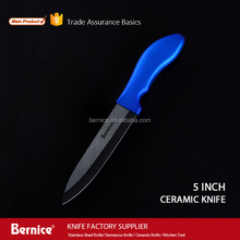 ceramic knife 5 inch protective blade sheath safety handle