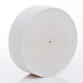 White Rubber Knitting Elastic Webbing Band