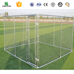 Wholesale cheap steel 10x10x6 foot classic galvanized outdoor dog kennel