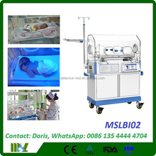 Hospital Infant Care jaundice phototherapy incubator/Medical NICU Infant Incubator (MSLBI02)