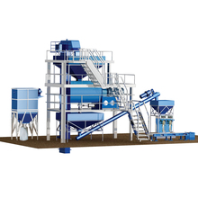 China dafu gypsum powder production line with perfect manufacturing craft