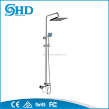 Morden style bath shower faucet thermostatic, electric water heater brass faucet