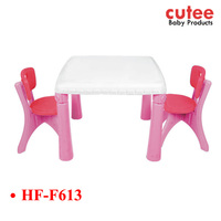 Multi-function Cheap Foldable Combined School Kids Plastic Table And Chair Set China