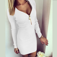 Spring new style ladies one piece bodycon dress