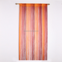 Fashionable rod spaghetti high quality string curtain design
