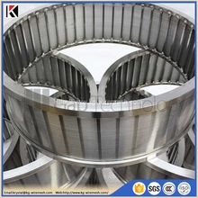 Direct factory offer small diameter stainless steel looped sieve bend wedge wire screen