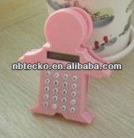 Plastic body shape calculator with clip