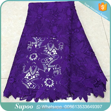 Supoo multi colours water soluble chemical lace