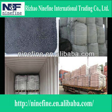 calcined petroleum coke for making steel